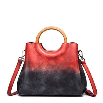Fusion Luxury Bag - Red - Handbag Footsylicious