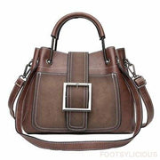 Hann Handbag - Coffee - Handbag Footsylicious