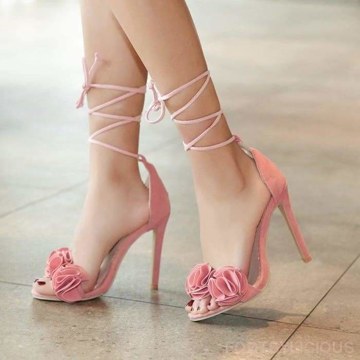 Ngo Ruffles High Heel Sandals - Footsylicious