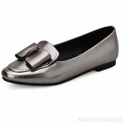 Rita Bow-Knot Flat - Flat Shoes Footsylicious