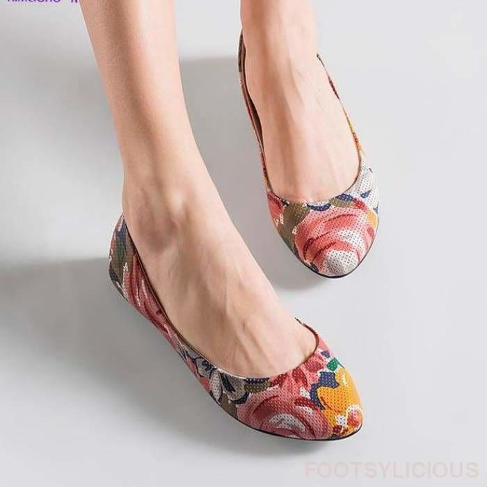 Sara Flat Slip On - Flat Shoes Footsylicious