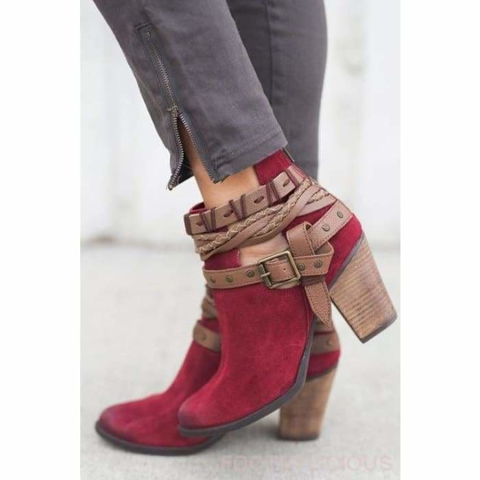 Tete Ankle Boots - red / UK3 - Delivered within 2 - 3 weeks - Footsylicious