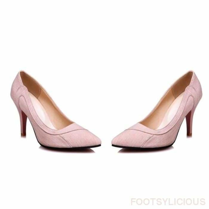 Urla Pumps - pink / UK3 - Shoes Footsylicious