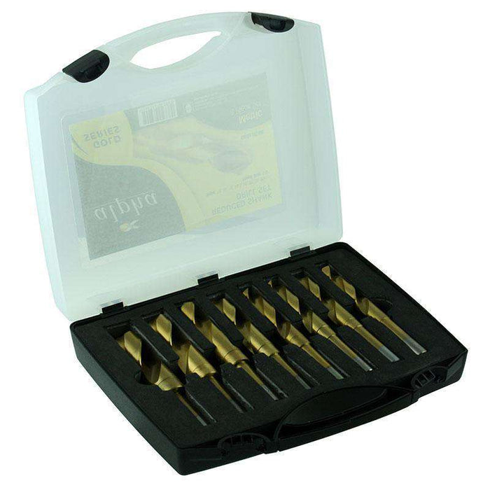 Sheffield Alpha 8 Piece Reduced Shank Imperial Drill Sets