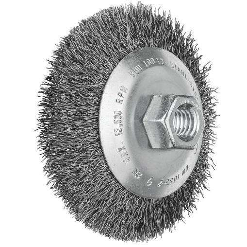 Pferd Flared Cup Brushes Kbu - Crimped Steel Wire