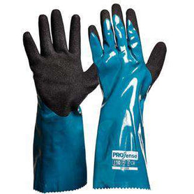 ProChoice ProChem 35cm Nitrile/PU Glove - NPUPC Box of 72/144Pairs Chemical Resistant Gloves Prochoice