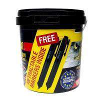 Sheffield Silver Series 125 x 1.0mm Cutting Disc 100 Pack Tub - Free Markers Cutting Discs Sheffield (1446043680840)