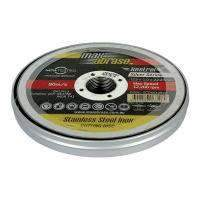 Sheffield Maxabrase Cutting Disc Stainless Silver Series 10 Pack (3571842383944)