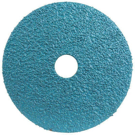 Sheffield MaxAbrase 125mm Zirconia Resin Fibre Disc Bulk Pack of 25