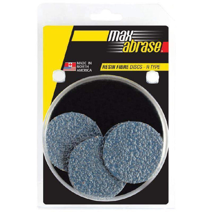 Sheffield Maxabrase 75mm Carded 5 Pack Resin Fibre Disc R Zirc. Grit