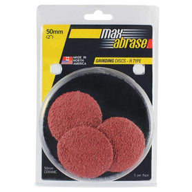 Sheffield Maxabrase Mini Grinding Disc R Type Ceramic Carded 5 Pack
