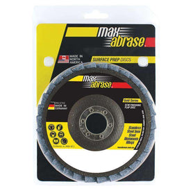 Sheffield Maxabrase 125mm SCM Finishing Flap Disc Carded Pack of 1 (3550259675208)