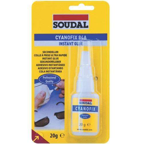 Soudal Cyanofix Liquid Blister Superglue 3gr Box of 12 - SPF Construction Products