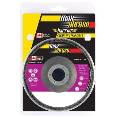 Sheffield Maxabrase Carded Surface Preparation Clean & Strip Disc Black Coarse