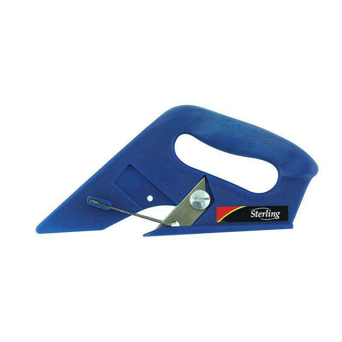 Sheffield Sterling Blue Durable Carpet Foam Back & Row Cutters