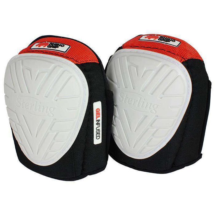 Sheffield Sterling Adjustable Elastic straps Rhino Grip Gel Knee Pads (1588188938312)