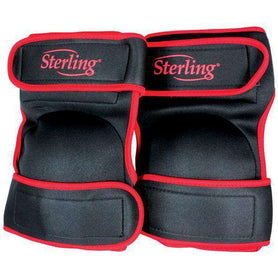 Sheffield Sterling Orange/Black Non Marking Comfort Style Knee Pad (1588189790280)