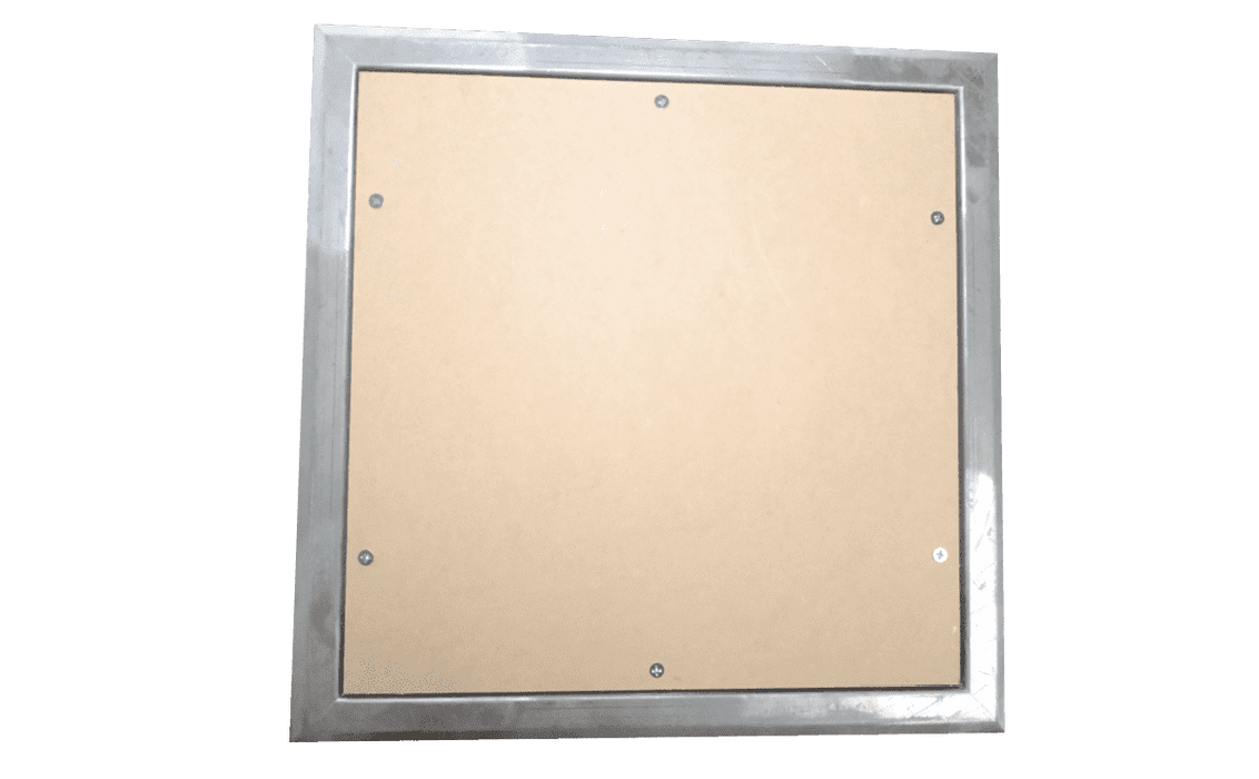 Wallboard 2 hour Fire Rated Access Panels Flanged 300-600mm (1454320549960)