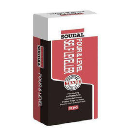Soudal Pour & Level - Self Levelling Compound 20kg Box of 1 Timber Floor Underlays Soudal