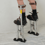 Wallboard Tools Dura-Stilt Adjustable Plasterers Stilts Med/Lge (1455360016456)