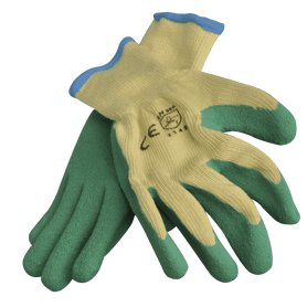 Wallboard Tools SafeCorp Poly Cotton Elastic cuff Latex Gloves (1455907668040)