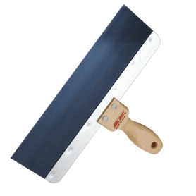 Wallboard Tools Taping Knife Wooden Handle Blue Steel Wal-Board USA (1561386090568)