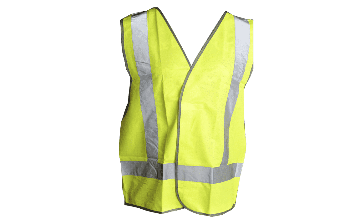 Wallboard Tools Green Night Time Safety Vest SafeCorp Size XXL (1562907443272)