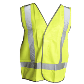 Wallboard Tools Green Night Time Safety Vest SafeCorp Size XXL