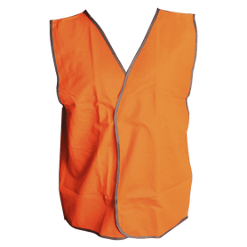 Wallboard Tools Orange Day Safety Vest SafeCorp