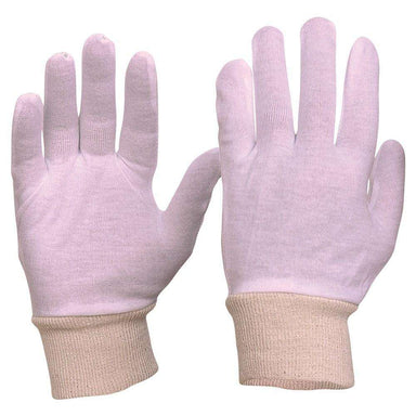 ProChoice Interlock Poly/Cotton Liner Knit Wrist Gloves Pack of 12