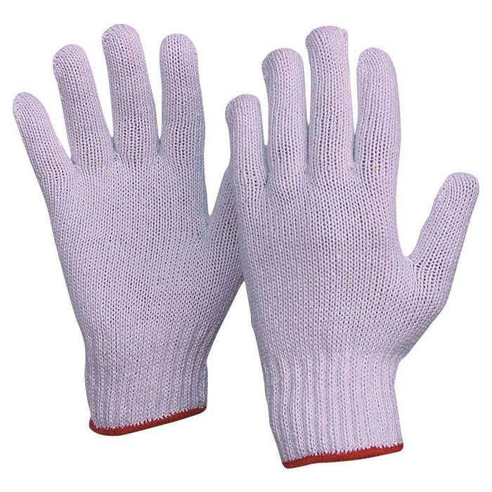 ProChoice Knitted Poly/Cotton Ladies and Mens Gloves Pack of 12 (1605832933448)