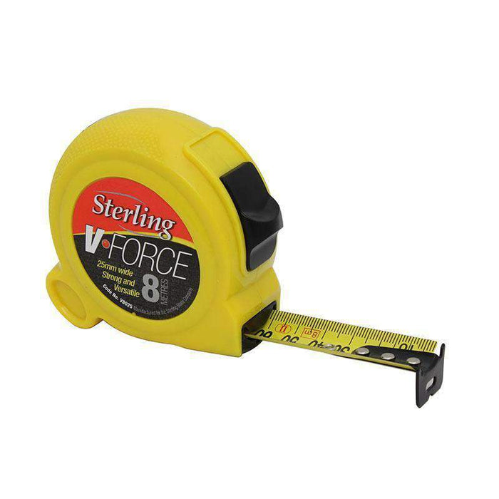 Sheffield Sterling V-Force Metric/Imperial Measuring Tape - Carded (3898486292552)