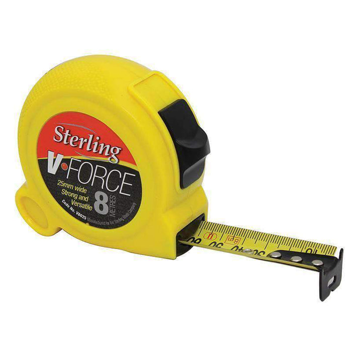 Sheffield Sterling V-Force Metric/Imperial Measuring Tape - Carded