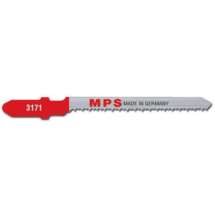 Sheffield MPS Jig Saw Blade 75mm, 20tpi, Ground, Euro Shank (x5)