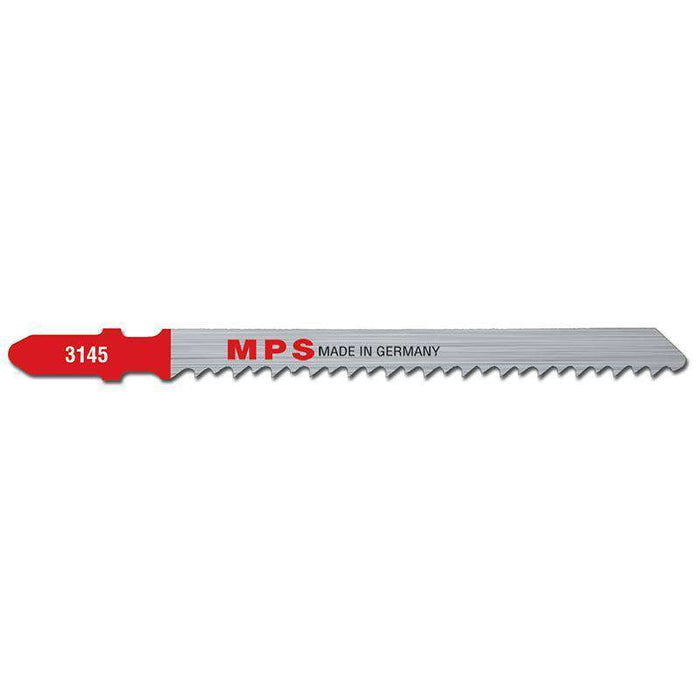 Sheffield MPS Jig Saw Blade 100mm, 8TPI, Milled Euro shank (x5)
