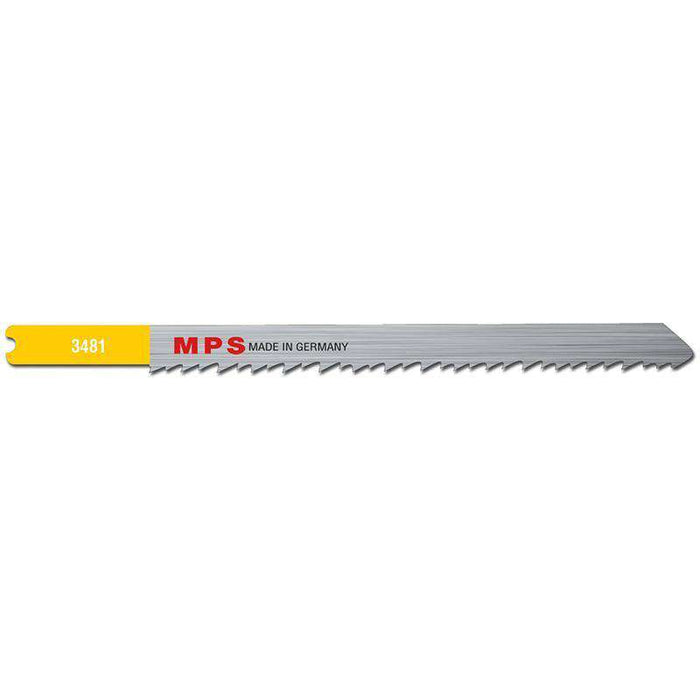 Sheffield MPS Jig Saw Blade CV, 115mm, 8-11tpi, Universal Shank (x5)