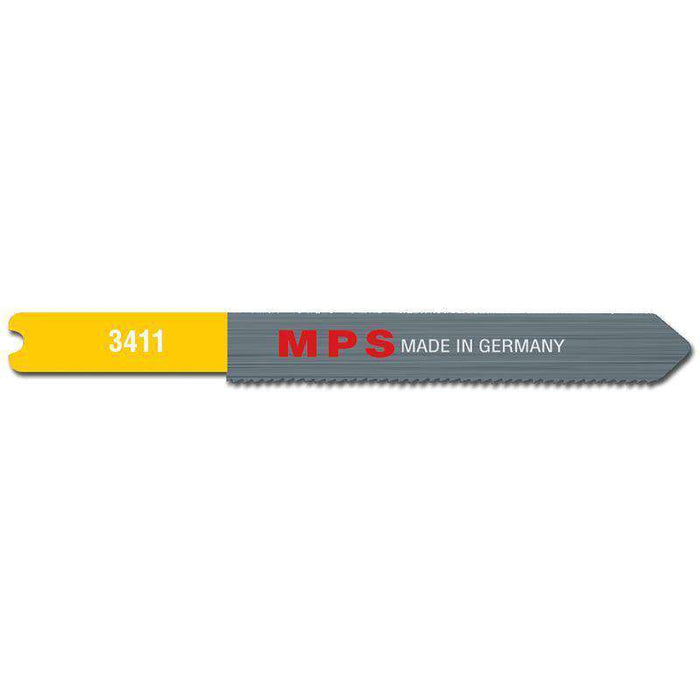 Sheffield MPS Jig Saw Blade 75mm, 21 tpi, Wavy, Universal Shank Metal (x5)