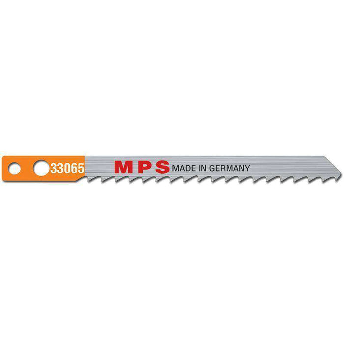 Sheffield MPS Jig Saw Blade CV, 100mm, 6tpi, Milled, Makita, Wood, Plastic (x5)