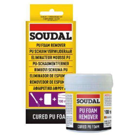 Soudal PU Foam Remover 100ml Box of 1 Cleaners & Solvents Soudal