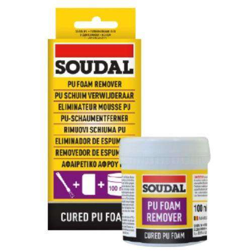 Soudal PU Foam Remover 100ml - SPF Construction Products