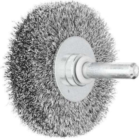 Pferd Shaft Mount Wheel Brush Wire 6mm RBU 8015/6 ST 0.20 Pack of 10 (1617545396296)