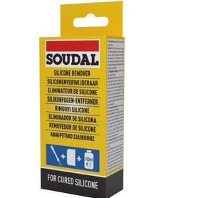 Soudal Silicone Remover & Brush Box of 12 Cleaners & Solvents Soudal (1436847833160)