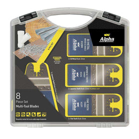 Sheffield Alpha 8 Piece Multi-Tool Blade Set/Kit