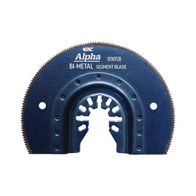 Sheffield Alpha 90mm HSS Segment Bi-Metal Multi-tool Blade Carded