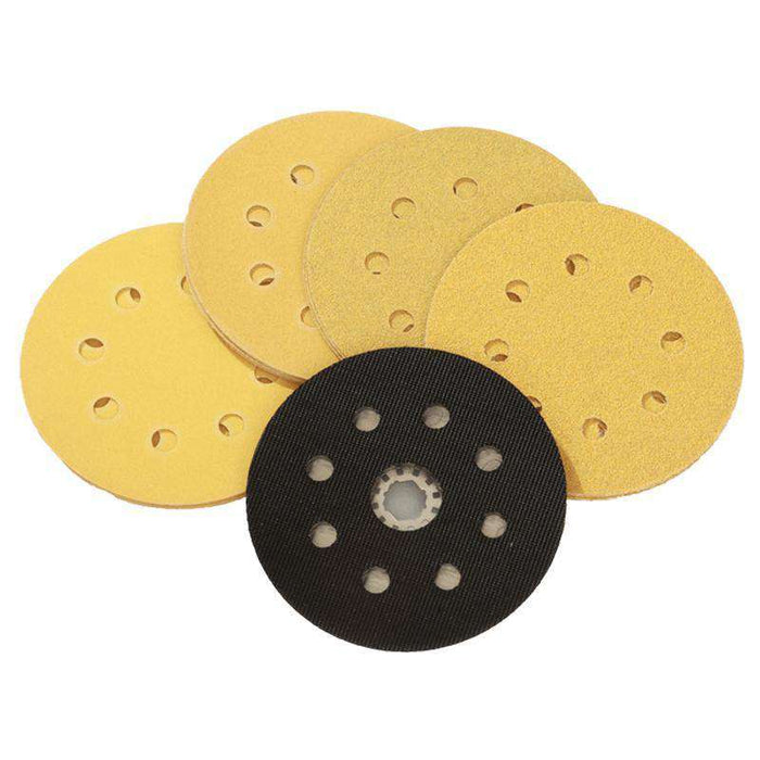 Sheffield Smart 115mm Diameter Sanding Pad - 17 Piece Set (1594810826824)
