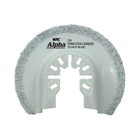 Sheffield Alpha Tungsten Carbide Grid Segment Multi-Tool Blade