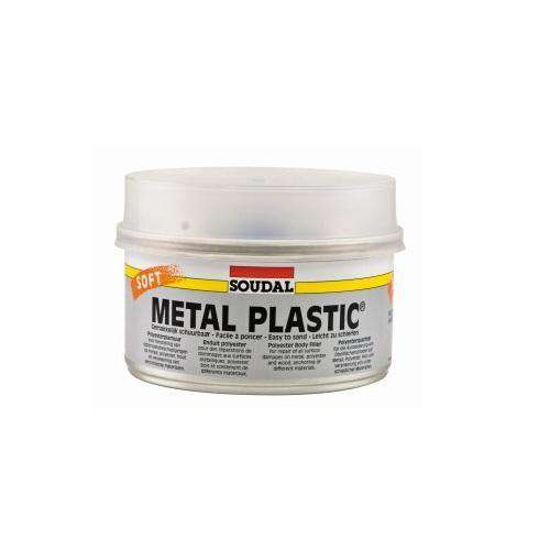 Soudal Metal Plastic Soft 1kg Box of 12 - SPF Construction Products