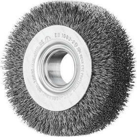 Pferd Wheel Brushes Arbor Hole Wire RBU 25020/22.2 ST 0.25 (1617544806472)