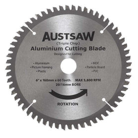 Sheffied Austsaw Aluminium Cutting Blade Metal Blade Triple Chip