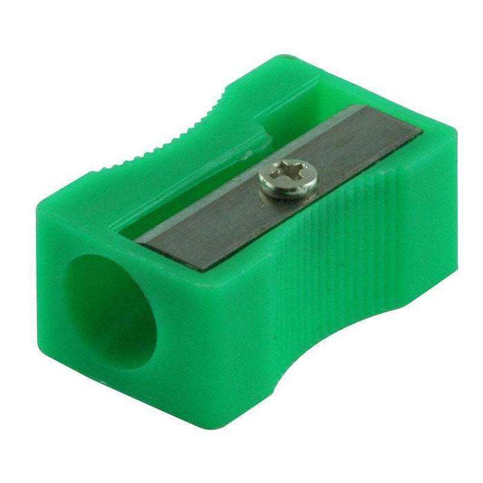 Sheffield Sterling Green Single Hole Plastic Sharpener